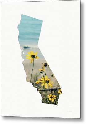 California Dreams Art By Linda Woods Metal Print