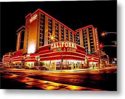 California Hotel Metal Print