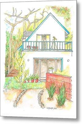 California House Metal Print by Carlos G Groppa