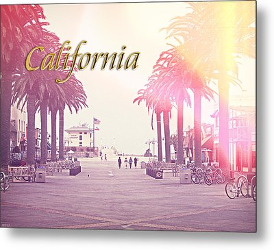 California Metal Print by Phil Perkins