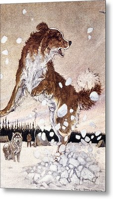 Call Of The Wild Metal Print by Granger