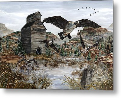 Call Of The Wild Metal Print by Jim Olheiser