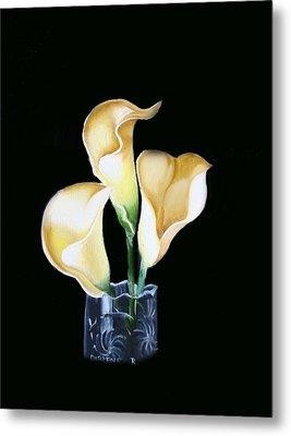 Calla Lily Metal Print by Darlene Green