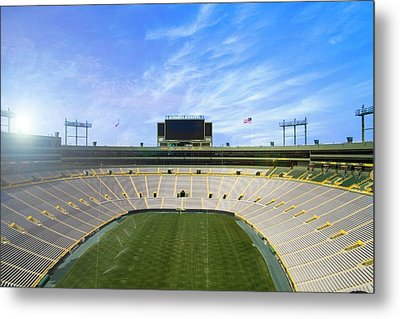 Metal Print featuring the photograph Calm Before The Game by Joel Witmeyer