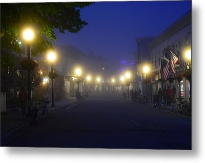 Calm In The Streets Metal Print