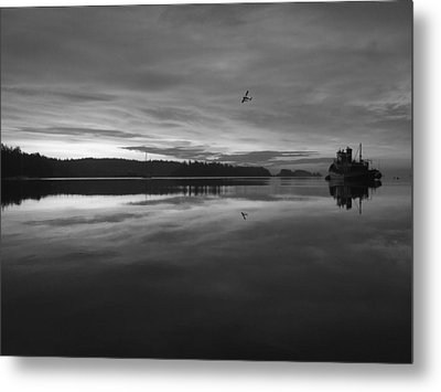 Calm Morning  Metal Print
