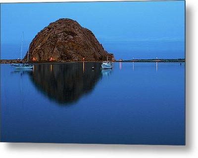 Calm Morning, Morro Bay, California Metal Print