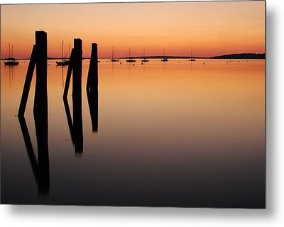 Metal Print featuring the photograph Calm by Paul Noble