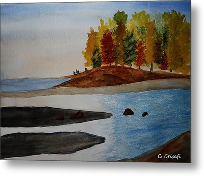 Calm Tide Metal Print by Carol Crisafi