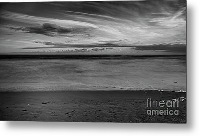 Metal Print featuring the photograph Calming Seas by Linda Lees