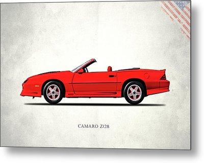 Camaro Z 28 1992 Metal Print by Mark Rogan