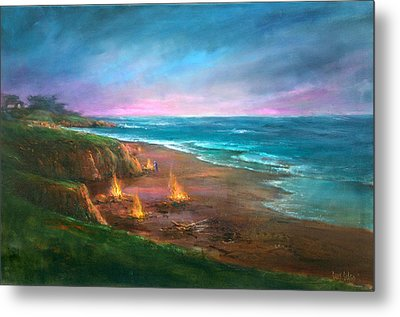 Cambria's 4th Of July Metal Print by Sally Seago