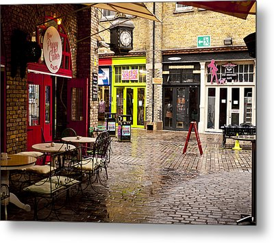 Camden Stables Market Metal Print by Rae Tucker