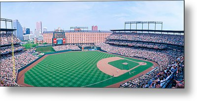 Camden Yard Stadium, Baltimore, Orioles Metal Print by Panoramic Images