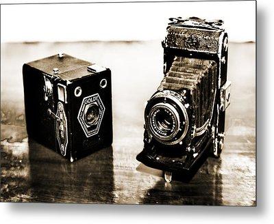 Cameras Metal Print by Thomas Kessler