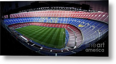 Camp Nou Metal Print