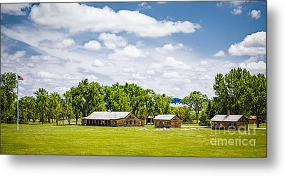 Camp Robinson Metal Print