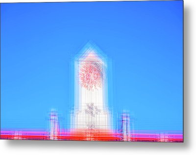 Can You Tell The Time? Metal Print