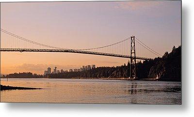 Canada, British Columbia, Vancouver Metal Print by Panoramic Images