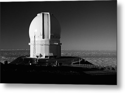 Metal Print featuring the photograph Canada France Hawaii Telescope 1 by Gary Cloud