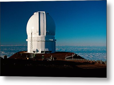 Metal Print featuring the photograph Canada France Hawaii Telescope 2 by Gary Cloud
