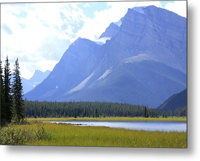 Canadian Mountains Metal Print