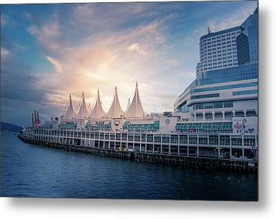 Canada Place Metal Print