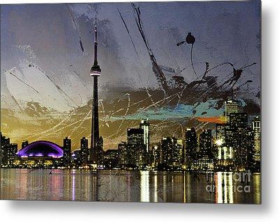 Canada- Toronto 01  Metal Print by Gull G