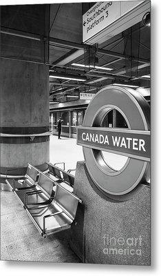 Canada Water Metal Print