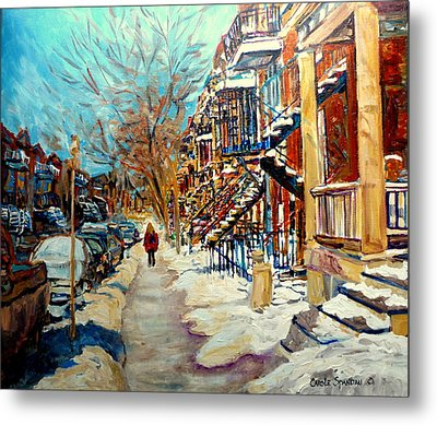 Canadian Art And Canadian Artists Metal Print by Carole Spandau