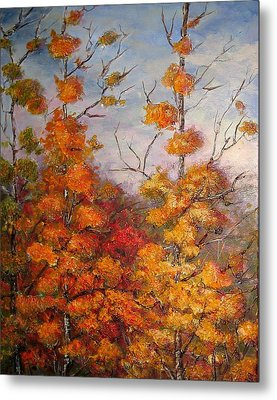 Canadian Autumn Metal Print