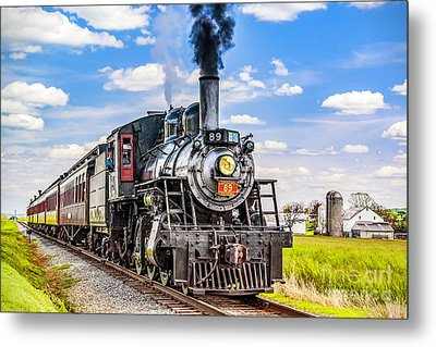 Metal Print featuring the photograph Canadian National 89 by Nick Zelinsky