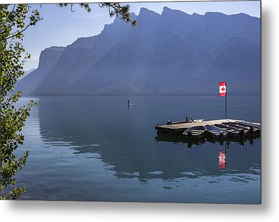 Canadian Serenity Metal Print by Angela A Stanton