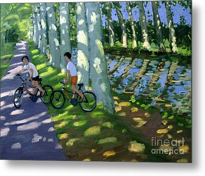 Canal Du Midi France Metal Print by Andrew Macara
