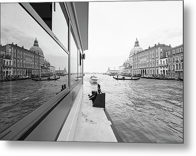 Canale Riflesso Metal Print by Marco Missiaja