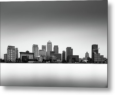 Canary Wharf Skyline Metal Print by Ivo Kerssemakers
