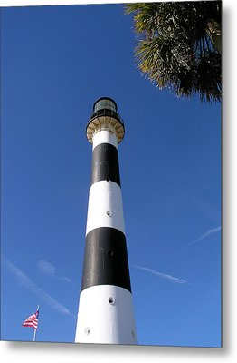 Canaveral Light Metal Print by Allan  Hughes