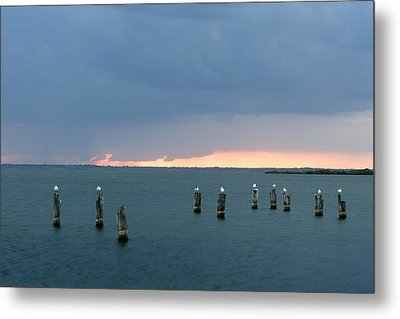Canaveral Sunset Metal Print by Eric Foltz