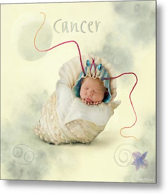 Cancer Metal Print by Anne Geddes