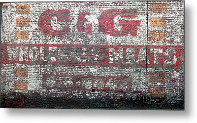 Candg Meats Metal Print by Jame Hayes