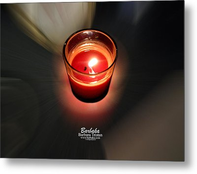Candle Inspired #1173-3 Metal Print