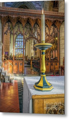 Metal Print featuring the photograph Candle Of  Prayer by Ian Mitchell