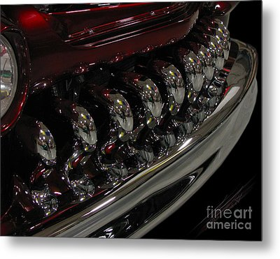 Candy Apple Bullets Metal Print by Peter Piatt