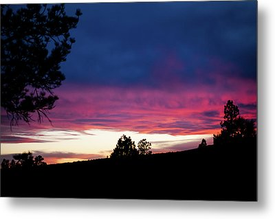 Candy-coated Clouds Metal Print