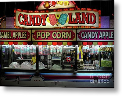 Candy Land Metal Print by M G Whittingham