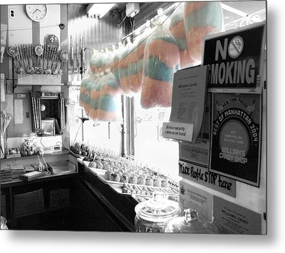 Metal Print featuring the photograph Candy Land by Raymond Earley