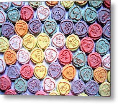 Candy Love Metal Print by Michael Tompsett