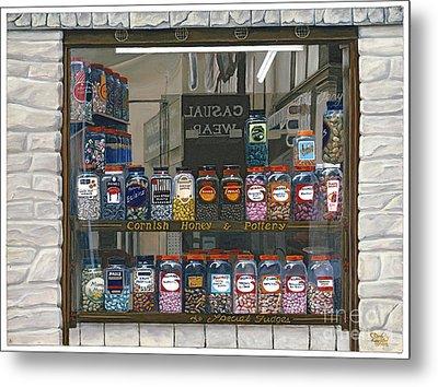 Candy Shoppe Metal Print by Jiji Lee