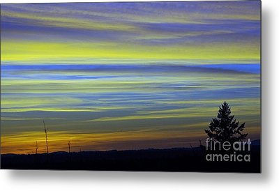 Metal Print featuring the photograph Candy Sky 1 by Victor K