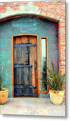 Cannery Door Metal Print